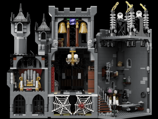Universal Monsters LEGO IDEAS back