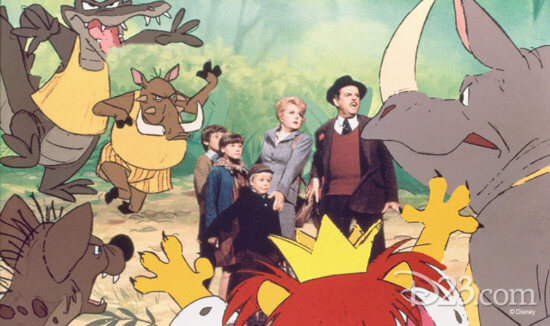 bedknobs and broomsticks on Disney+
