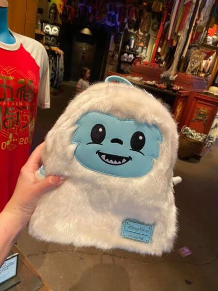 Disco Yeti Loungefly Mini Backpack Hero