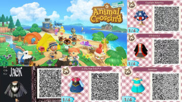 codes for animal crossing disney clothes and furniture