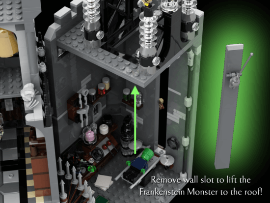 Universal Monsters LEGO IDEAS lab