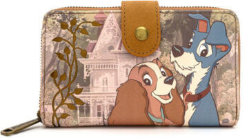 Lady and the Tramp Loungefly wallet