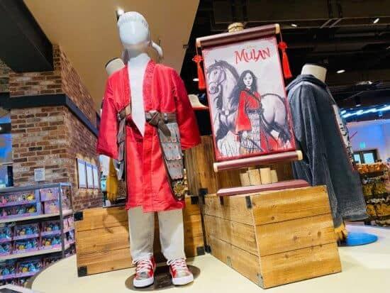 Mulan Disney Springs merchandise