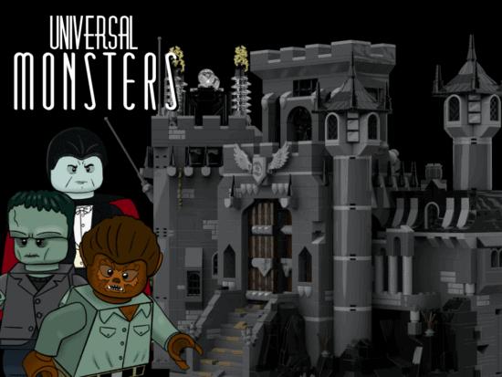 Universal Monsters LEGO IDEAS lead