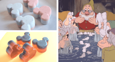 Disney DIY Mickey soap