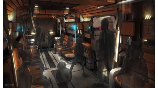 Star Wars themed bus