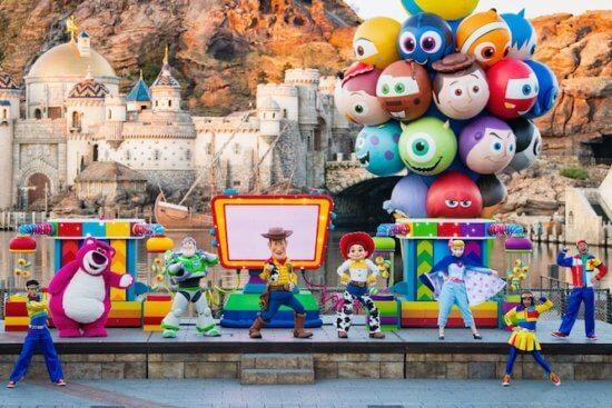 Pixar Pals Stage Show Streaming Tokyo Disney