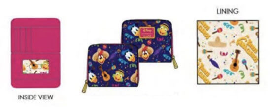 tres caballeros loungefly wallet