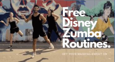 free disney zumba dance workout routines