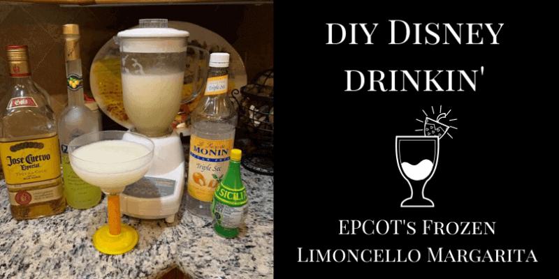 EPCOT Frozen Limoncello Margarita Recipe