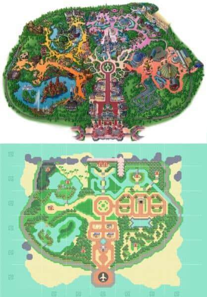Animal Crossing Disneyland Paris