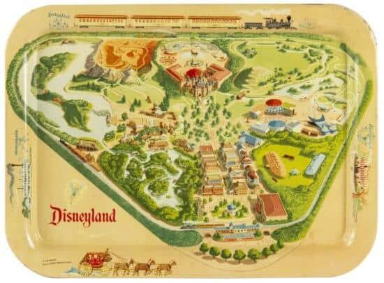 Disneyland Tray