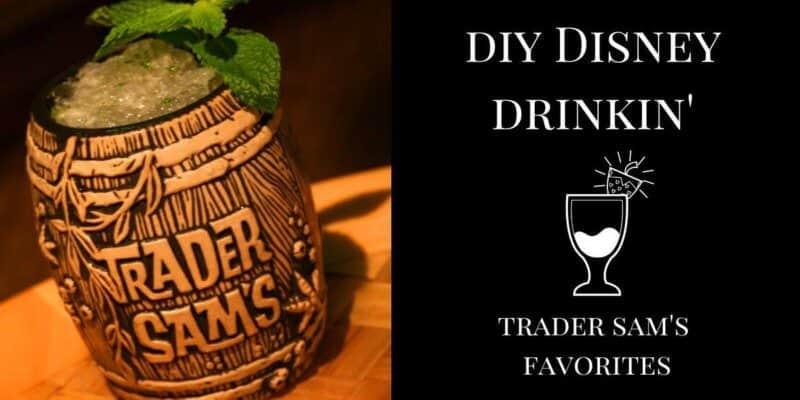 Disney drink recipes Trader Sam's