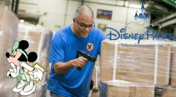 Disney donations boxes