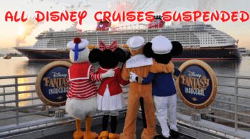 Disney Suspends All Cruises Through Mid-June