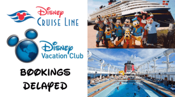 Disney Begins to Delay Bookings for 2021 Disney Cruise Line Vacation
