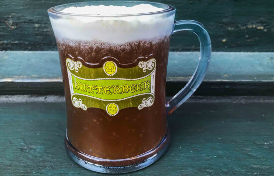 Cold butter beer