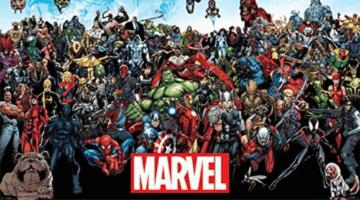 Marvel Comics Universe Poster