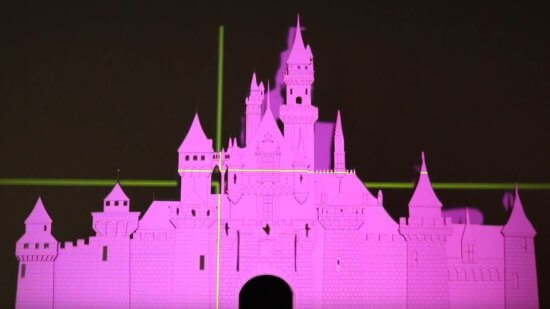 Disney Fireworks at Home mapping