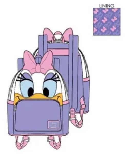 daisy disney loungefly mini backpack