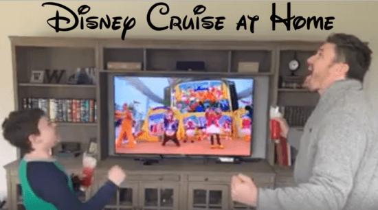 Disney Cruise at Home