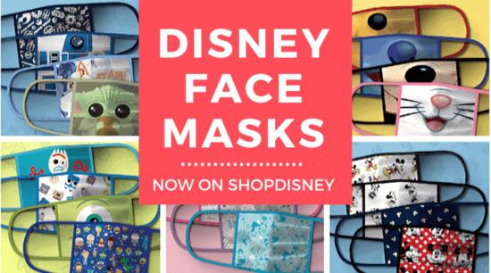 disney face masks header