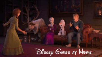 Disney Games at Home