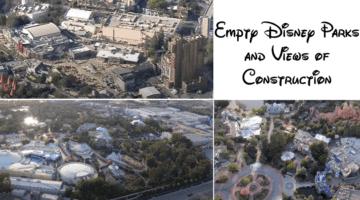 disney parks construction during closure