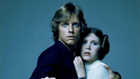 Carrie Fisher and Mark Hamill