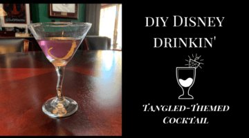 Tangled-Themed Cocktail Recipe