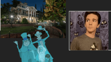 Drake Bell recreates haunted mansion at home