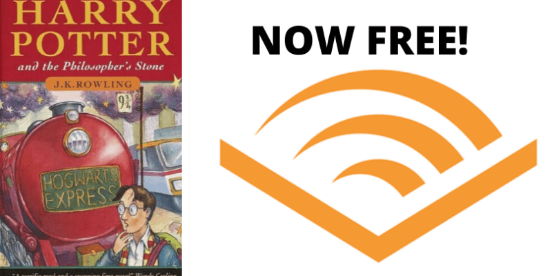 First Harry Potter Book Now Free on Audible