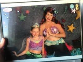 Corrine Hinton Real-Life Mermaid