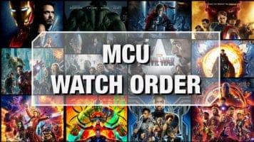 MCU Watch Order