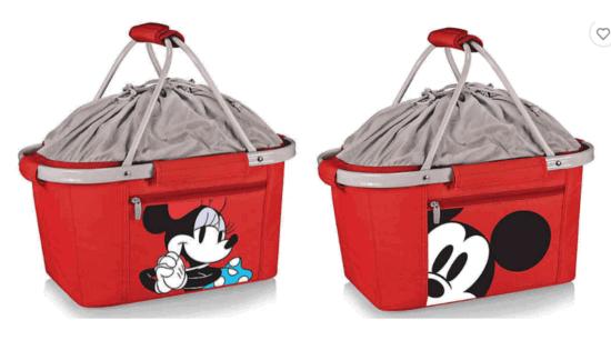 Minnie & Mickey Basket Coolers