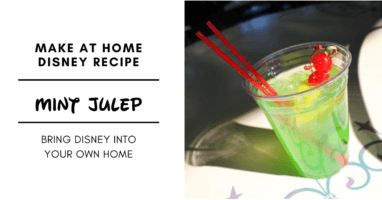 mint julep disney recipe