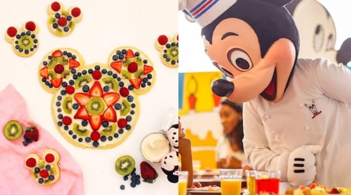 Chef Mickey Mouse
