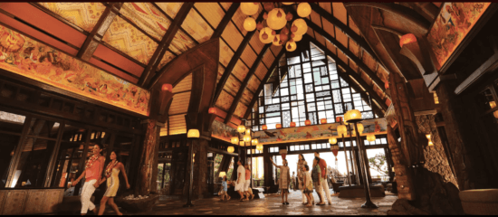 Disney Aulani lobby