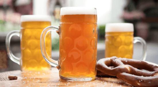 Block & Hans beer in beer mug