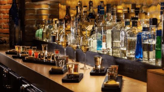 Cava del Tequila bar area