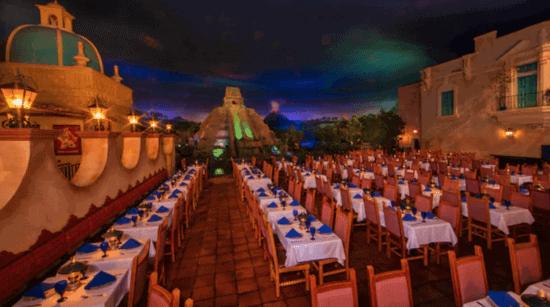 San Angel Inn Restaurante seating area