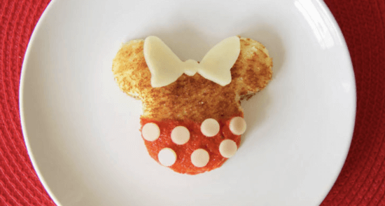 minnie grilled cheese