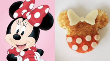 minnie mouse grilled cheese