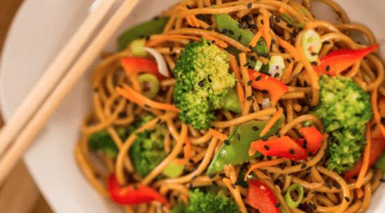 Caravan Road - noodles and veggies