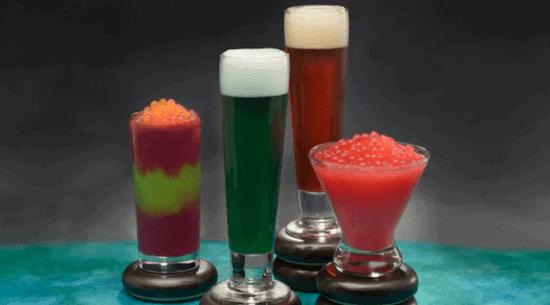 Pongu Pongu various drinks
