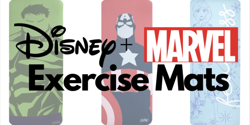 disney yoga mat