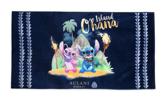 stitch towel aulani