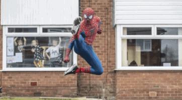 manchester spider man group