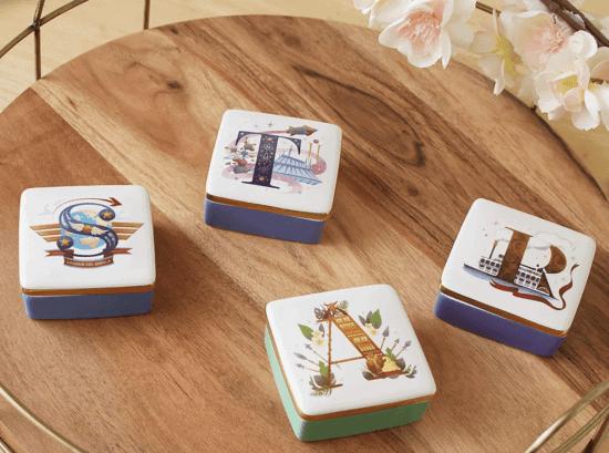 ABCDisney trinket boxes