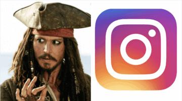 johnny depp on instagram header